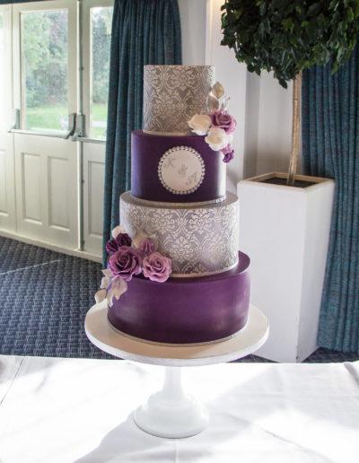Abbi wedding cake