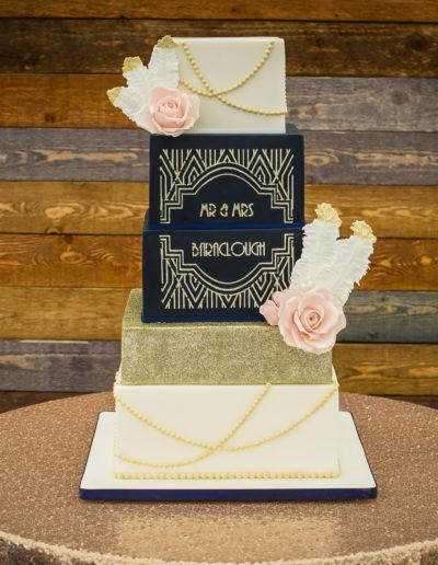 Abbie wedding cake 1