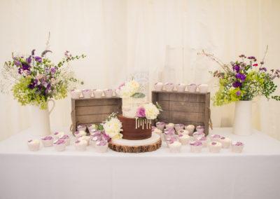 Andrea cake & dessert table