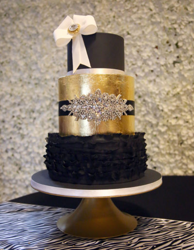 Belle wedding cake