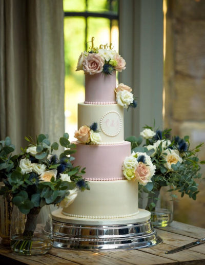 Charlie wedding cake