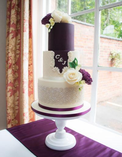 Jenni wedding cake