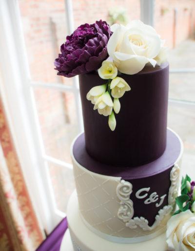 Jenni wedding cake close up