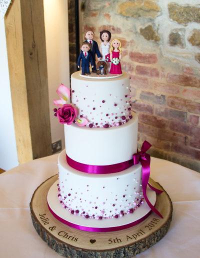 Jule wedding cake