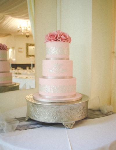Michelle wedding cake