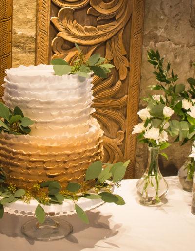 Nishma wedding cake