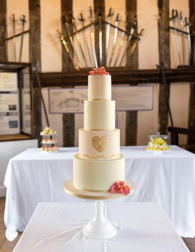 Sarah wedding cake 1